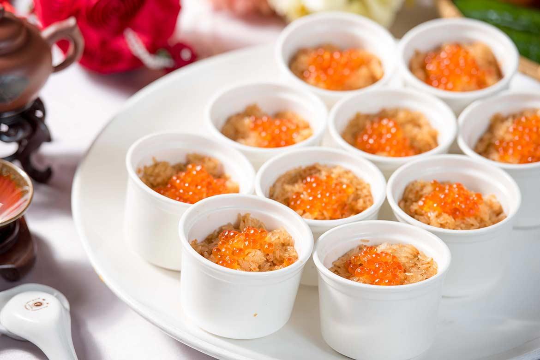 鮭魚卵蒸飯個份