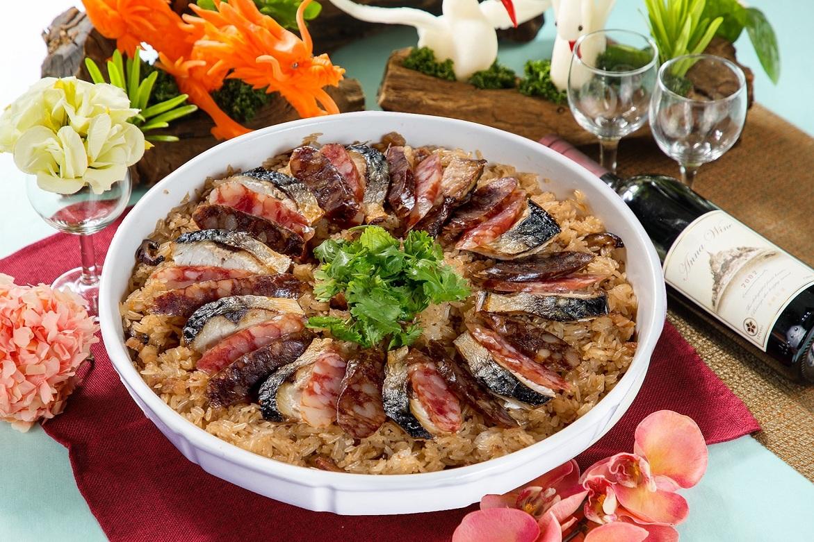 鯖魚臘味米糕