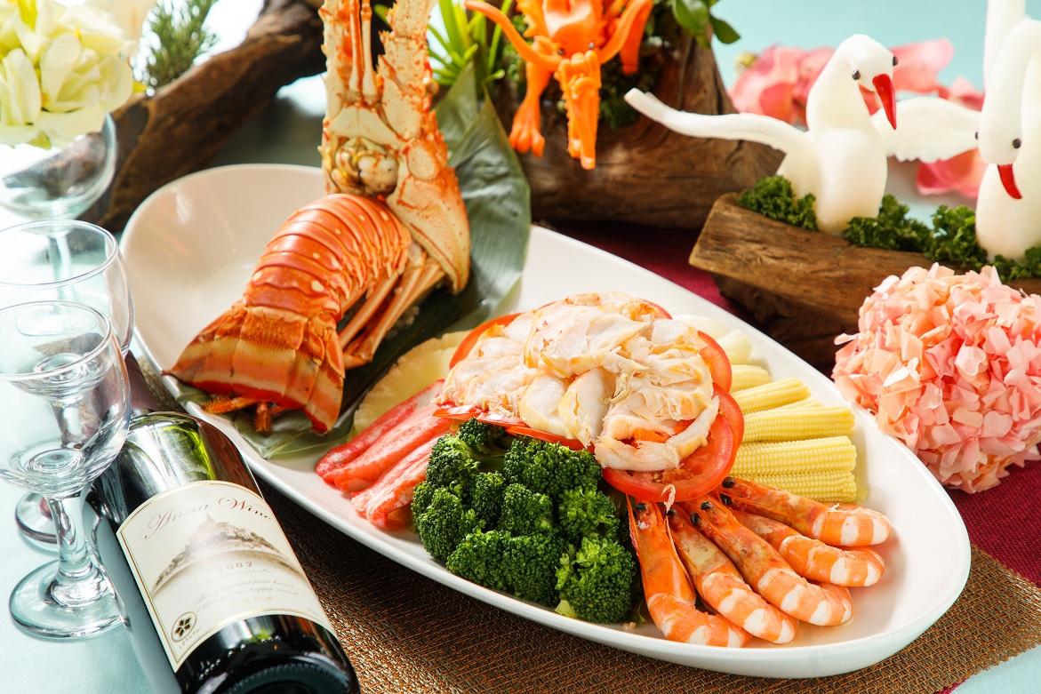 龍蝦和風海鮮蔬果