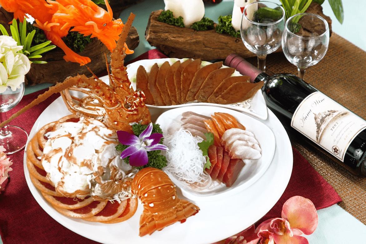 沙拉龍蝦/綜合生片/烏魚子